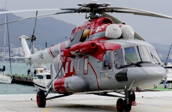 {:sk}STLC prijaté Mi-8AMT vrtuľník pre dodávky v Tuva