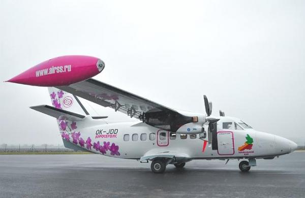 "{:fi}""Aeroservis"" on otettu käyttöön kolmas L-410"