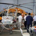 {:mk}UZGA ќе започне испораки на Бел-407 со рускиот медицински модули