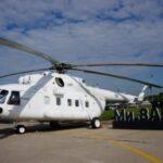 {:da}STLC modtaget en sending af fire helikoptere Mi-8AMT
